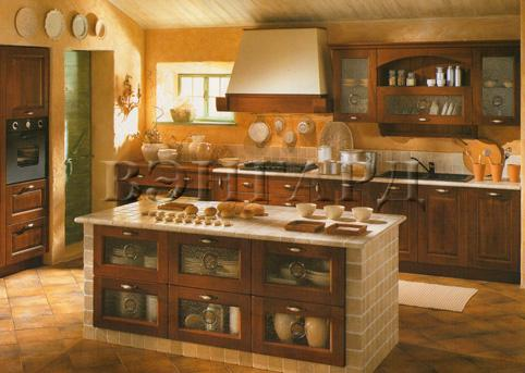 Cucine country contemporaneo